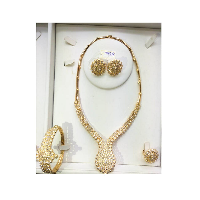 JS974 Women's jewelry set - Bejewel