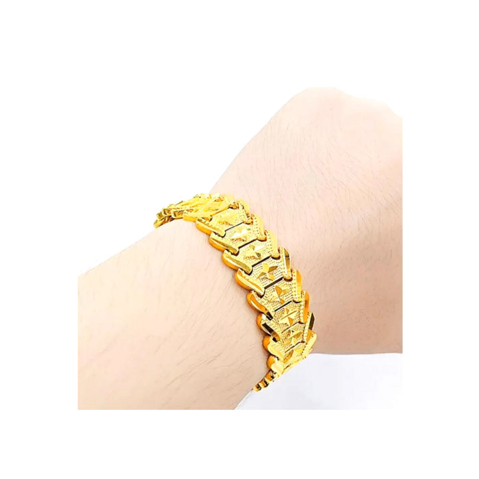 BB797 men's chain bangle - Bejewel