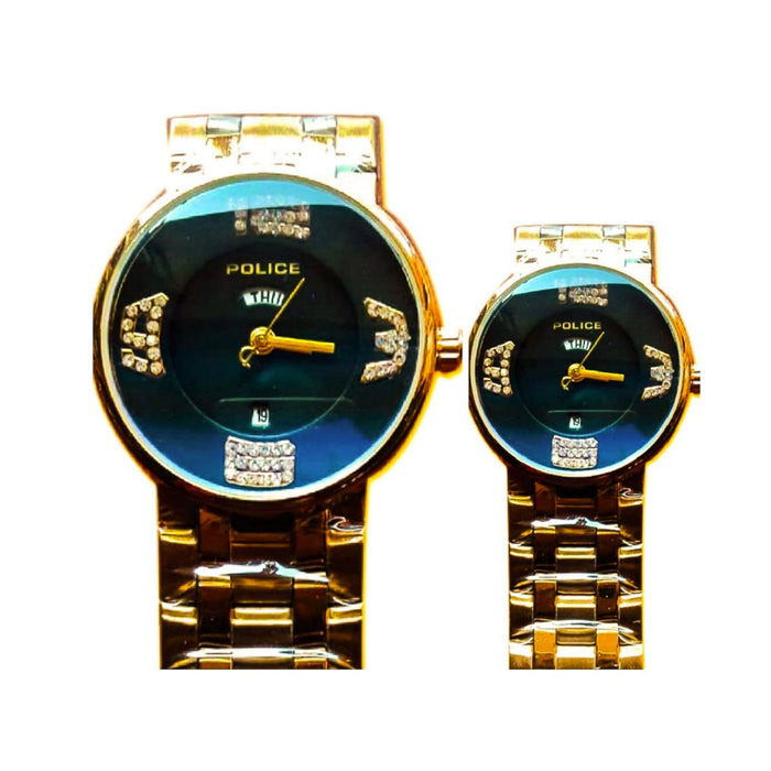 Police PL338 couples chain watch - Bejewel