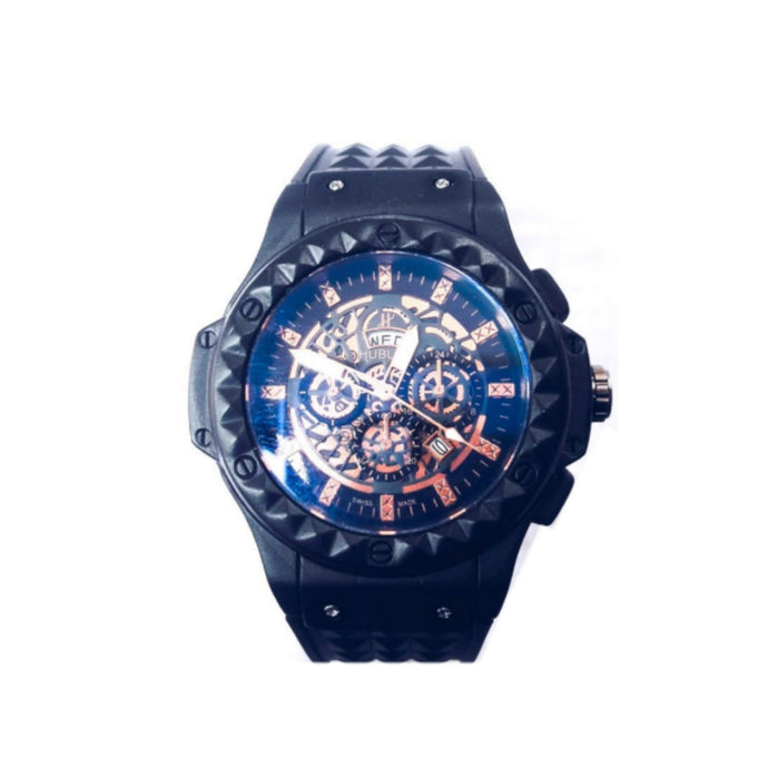 Hublot HB370 unisex rubber strap watch - Bejewel