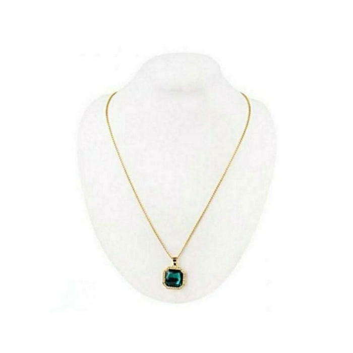 Emerald pendant-women's fashion necklace - Bejewel