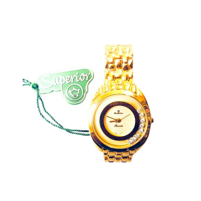 Superior SR308 - Women's Chain Watch - Bejewel