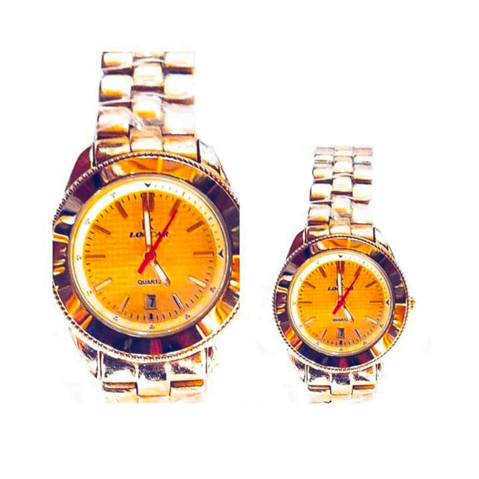 Loncar LC345 couples chain watch - Bejewel
