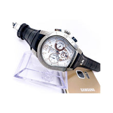 Load image into Gallery viewer, Aigner AG662 Automatic Chronograph - Men's Leather Watch - Bejewel