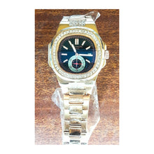 Load image into Gallery viewer, Patek Philippe stone bezel - unisex chain watch - Bejewel
