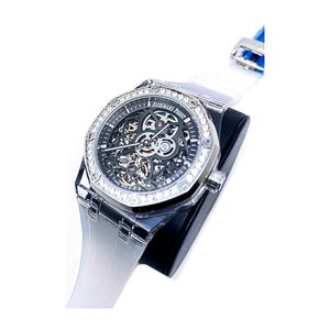 Audemars Piguet AP383 Automatic - Men's Rubber Watch - Bejewel