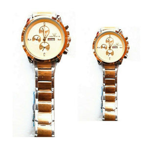 EA280 - Couples Chain Watch - Bejewel