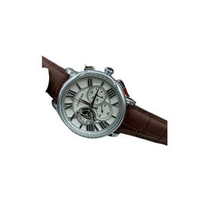 CT357 Chronograph - Men's Leather Watch - Bejewel