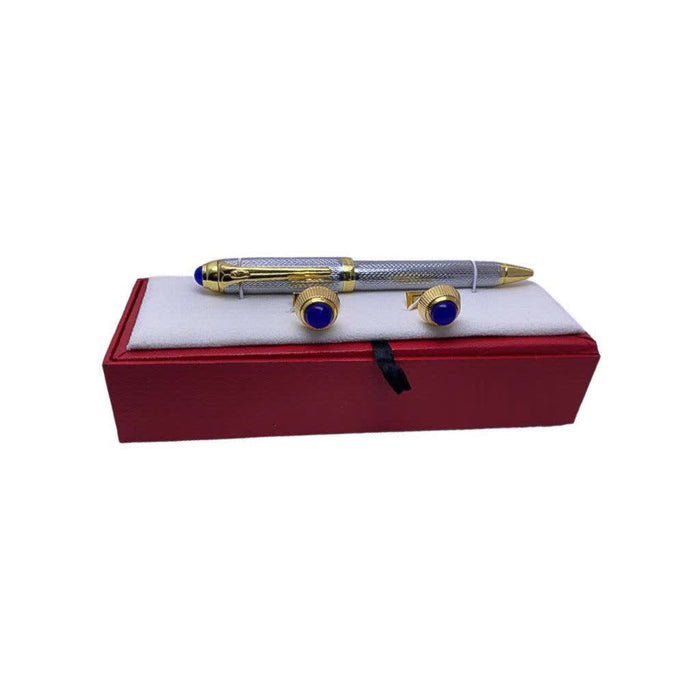CF195 Cufflink And Biro Set - Bejewel