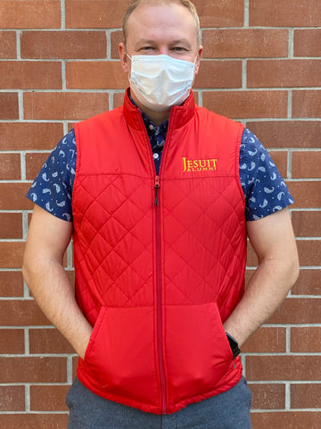 """NEW"" ALUMNI VEST- Special Edition Red"
