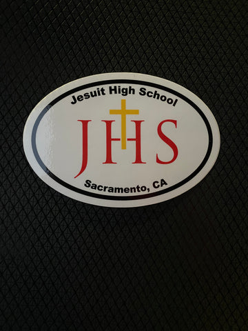 JHS Sacramento OVAL Sticker