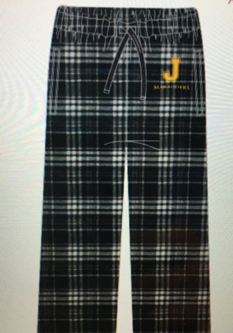 BLK Plaid Flannel Pants