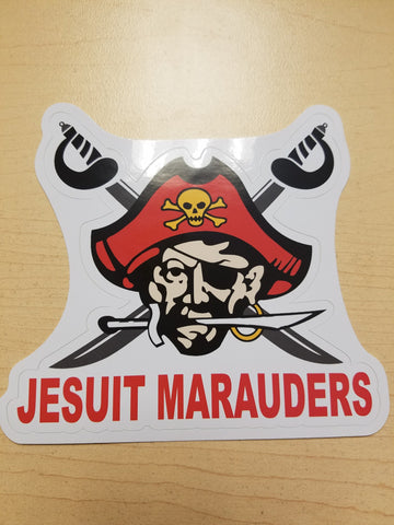 Jesuit Marauders Sticker