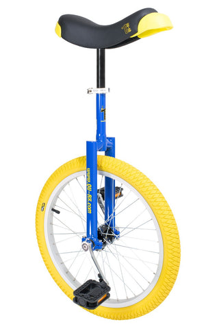 "QU-AX Luxus 20"" Unicycle (blue)"