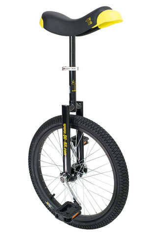 "QU-AX Luxus 20"" Unicycle (black)"
