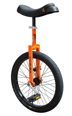 "QU-AX Luxus 20"" Unicycle (orange)"