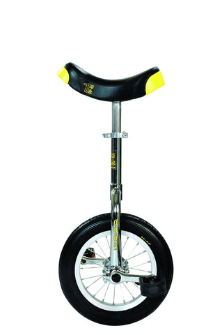 "QU-AX Luxus 12"" Unicycle (chrome)"