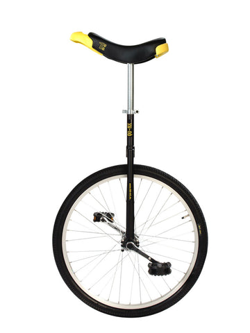 "QU-AX Luxus 24"" Unicycle (black)"