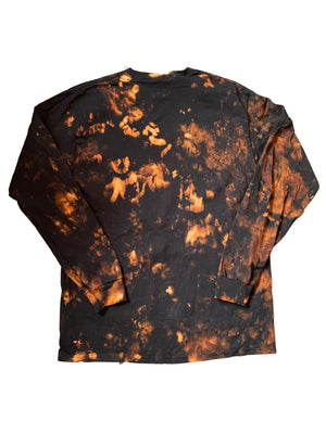 RI$K World Bleached Blaze Longsleeve - RI$K World