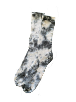 Baby Blue Ice Dyed Socks - RI$K World