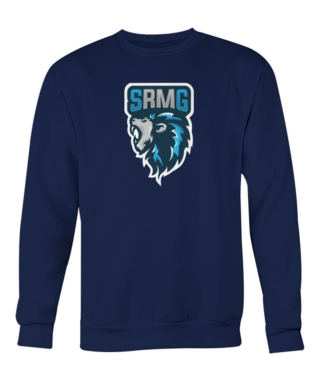 SRM Gaming Mascot Crew Neck Sweater (5 Color Options)
