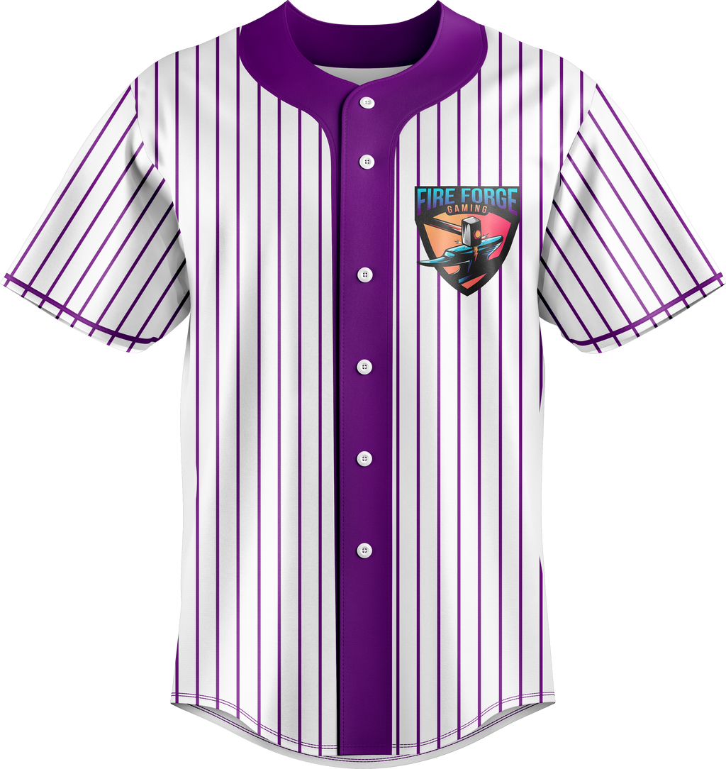 Fire Forge Gaming Baseball Jersey
