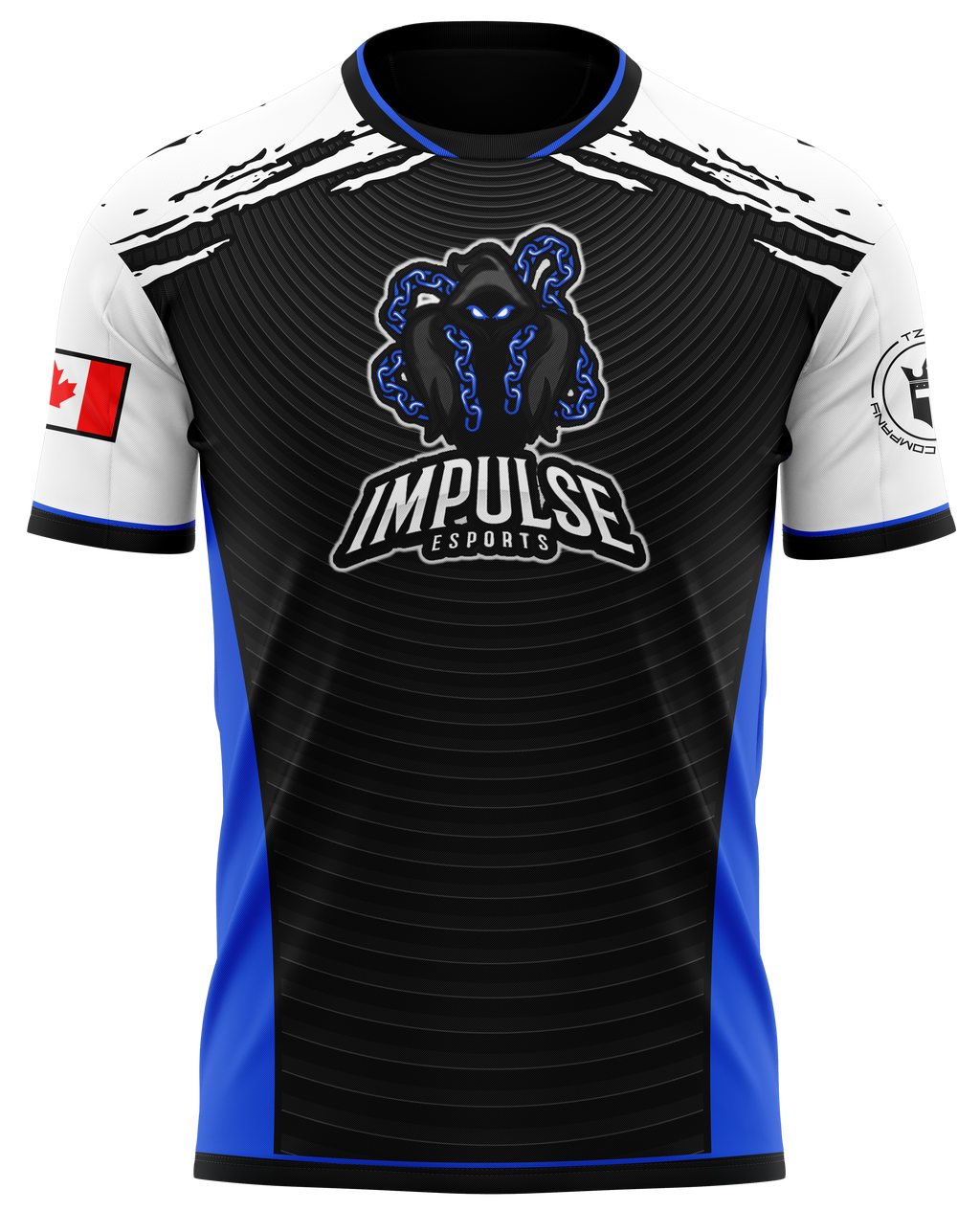 Impulse Esports Dark Blue Pro Jersey