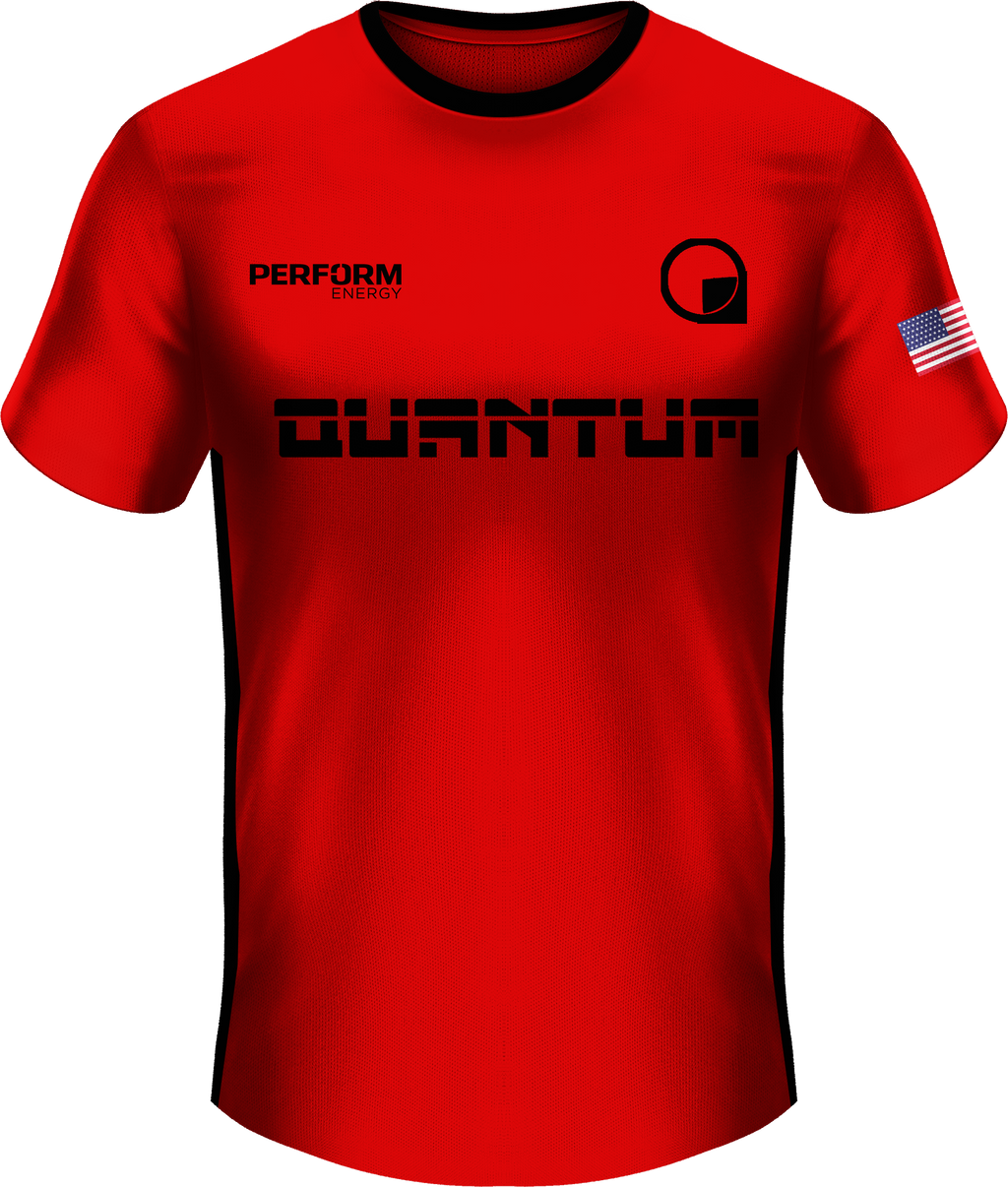 Quantum Red Short Sleeve Jersey