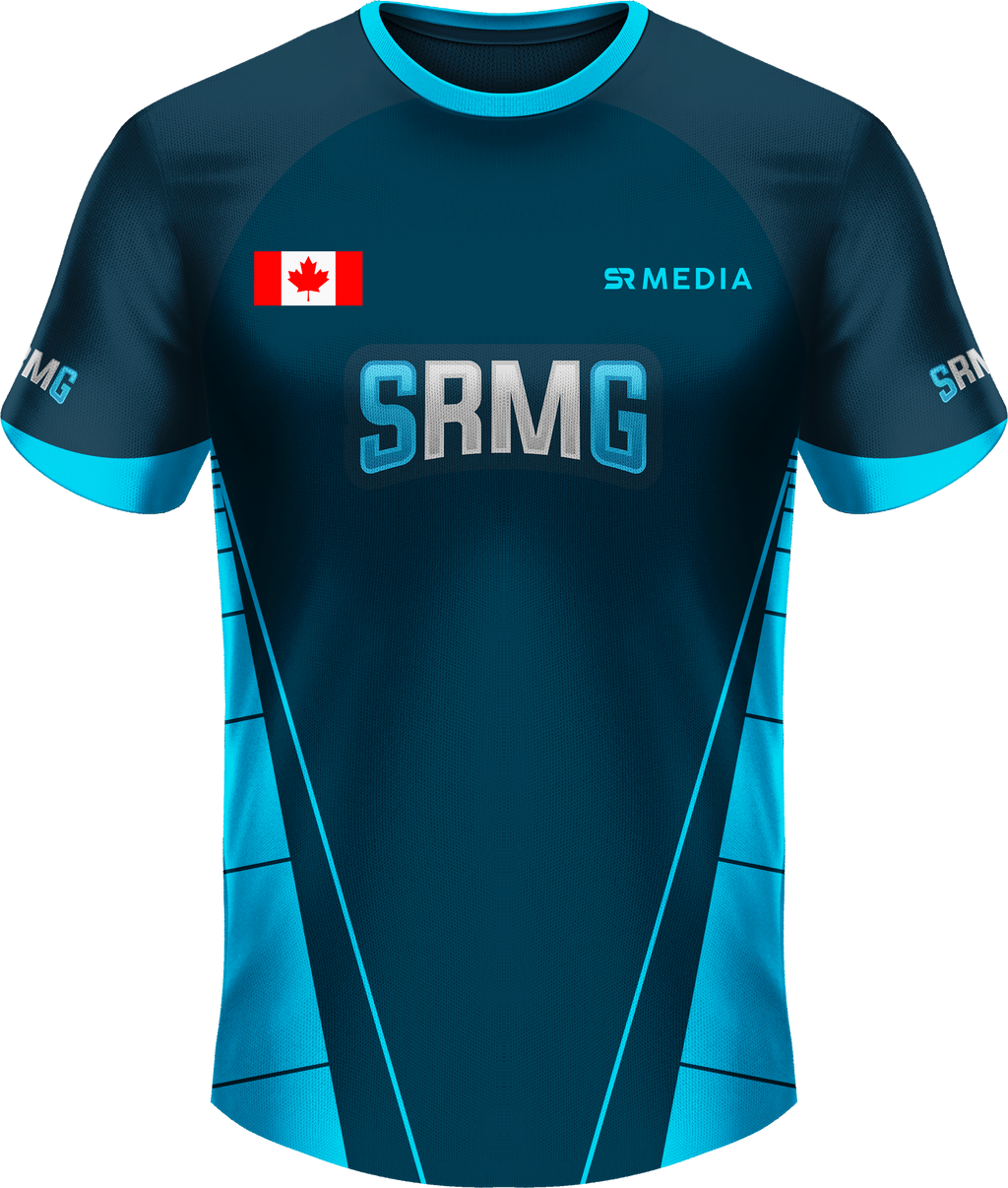 SRM Gaming Text Logo Short Sleeve Jersey