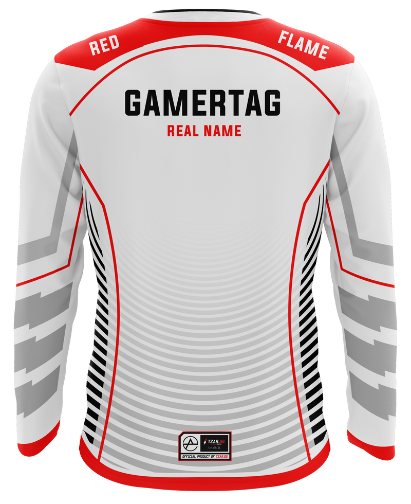 Aspire eSports White Long Sleeve Jersey