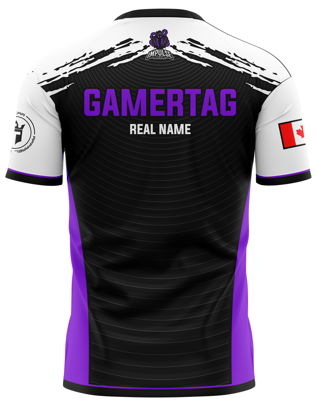 Impulse Esports Purple Pro Jersey