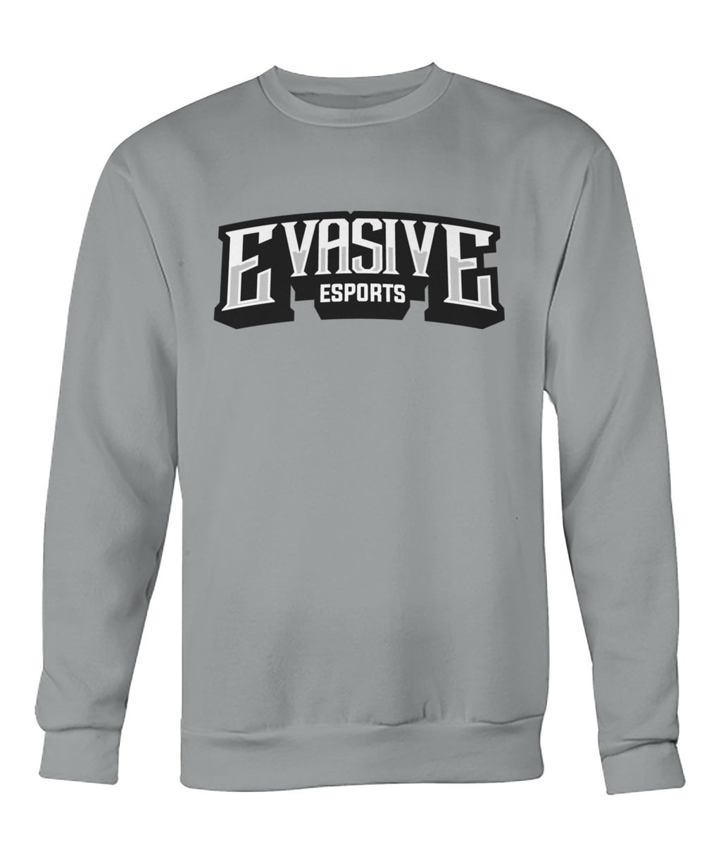 Evasive Esports Text Logo Crew Neck (3 Color Options)