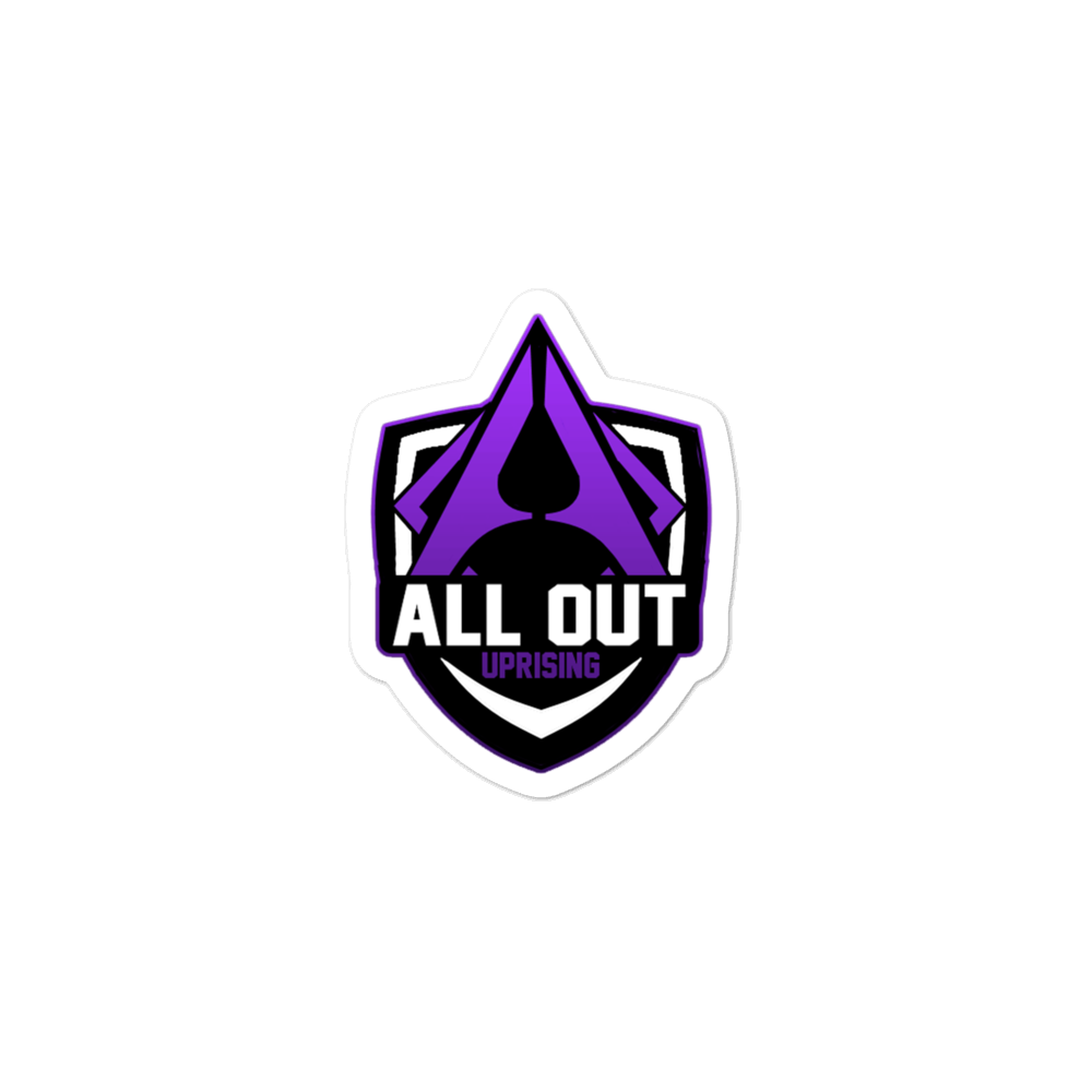 All Out stickers