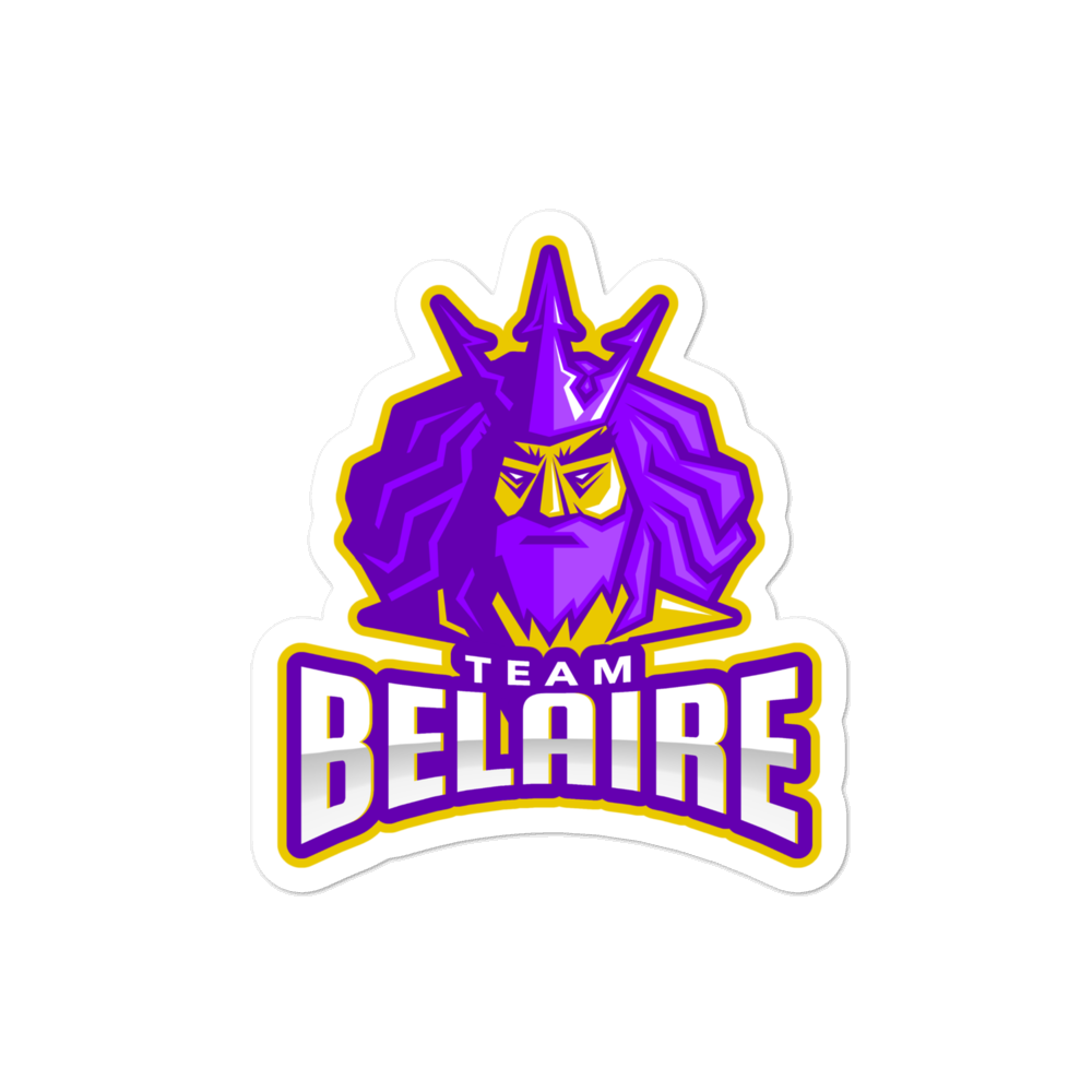Belaire Die-cut Sticker
