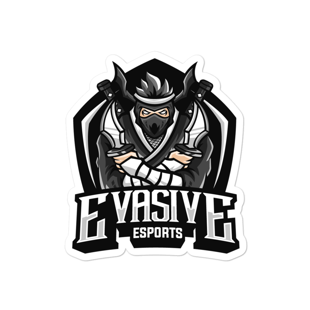 Evasive Esports Die-cut Sticker