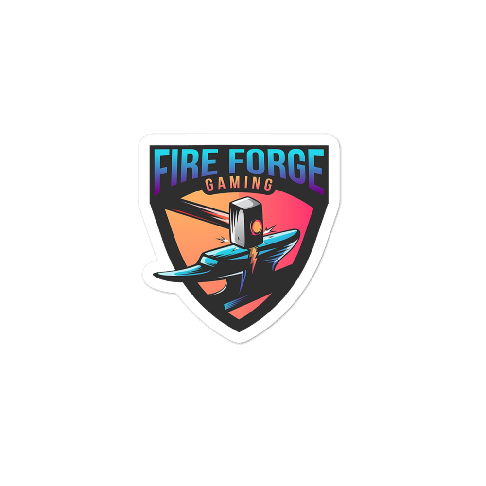 Fire Forge Gaming Die-cut Sticker