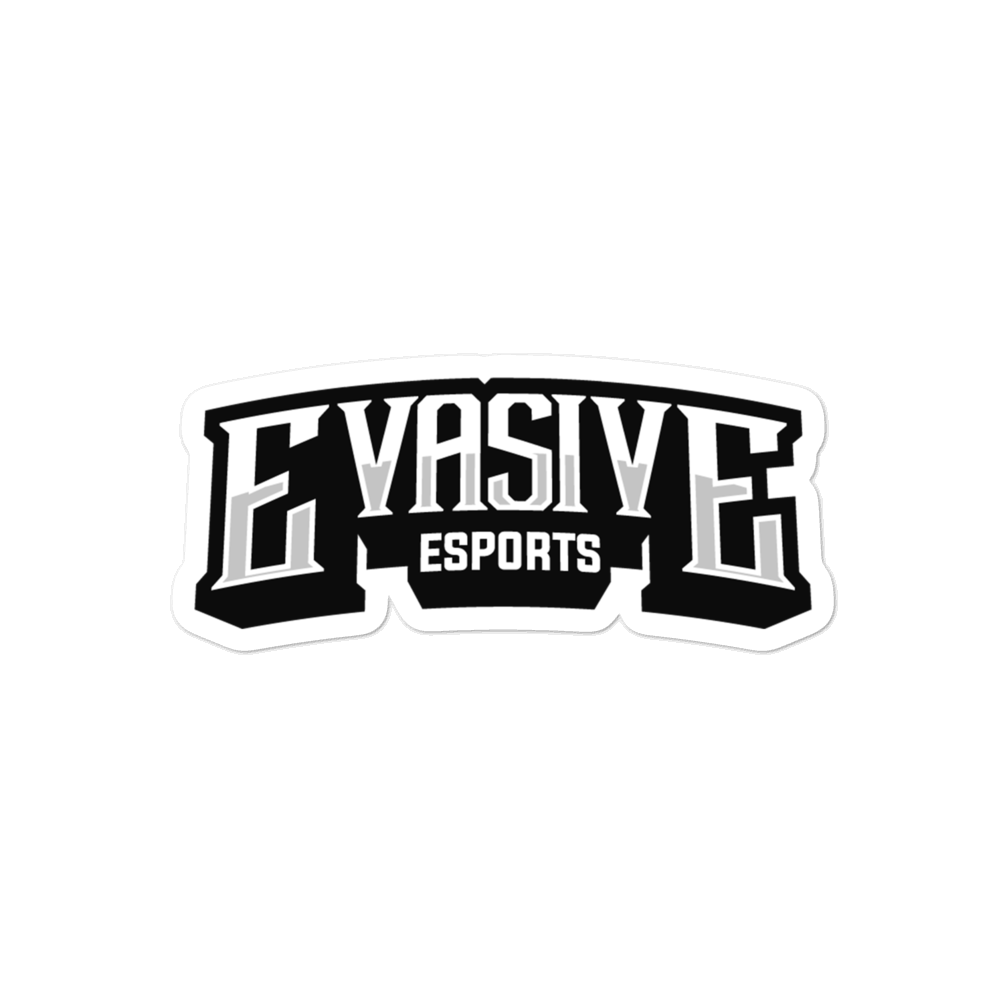 Evasive Esports Text Logo Die-cut Sticker