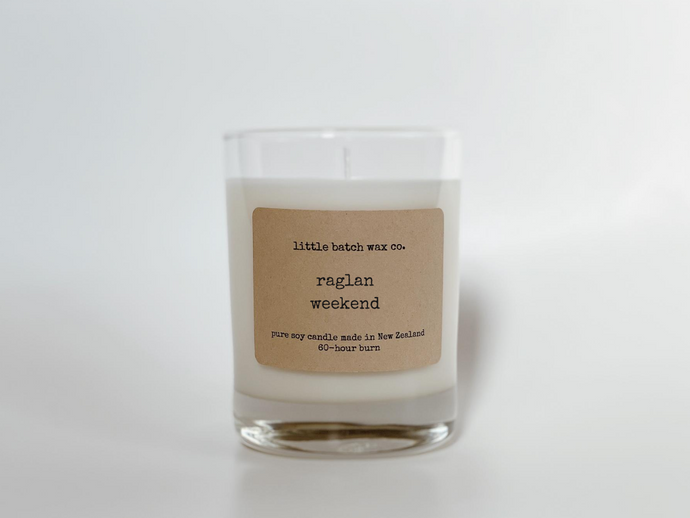 Soy Wax Candle in Whisky Tumbler
