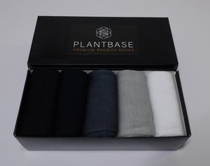 Bamboo Sock Gift Set (5 pair)
