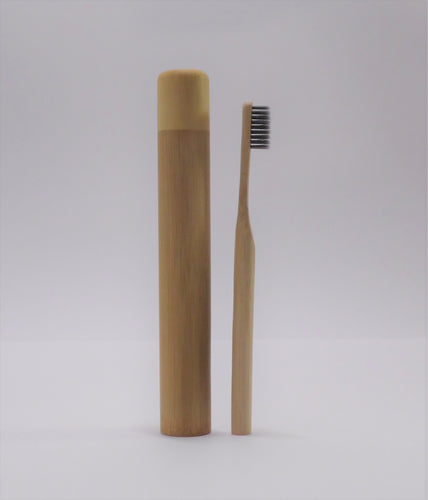 Bamboo Toothbrush & Case