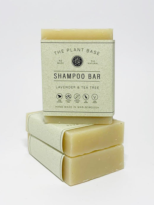 Lavender & Tea Tree Hair Shampoo Bar