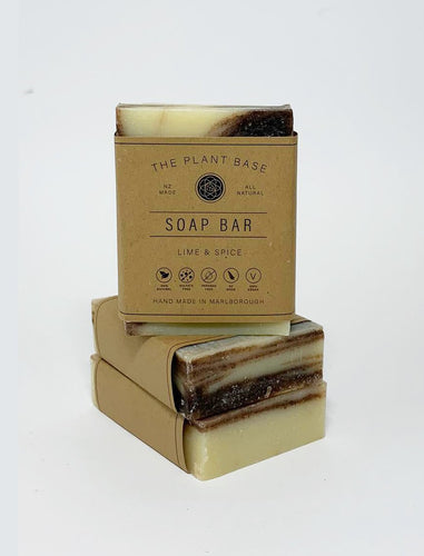 Lime & Spice Soap Bar