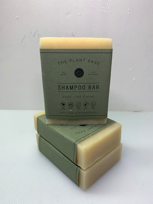 Sage, Lime and Mint - Shampoo Bar