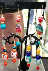 Handcrafted Earrings by Local Artist