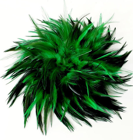 Green Feather Broach