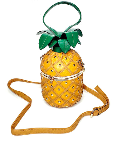 Yellow Pineapple Handbag