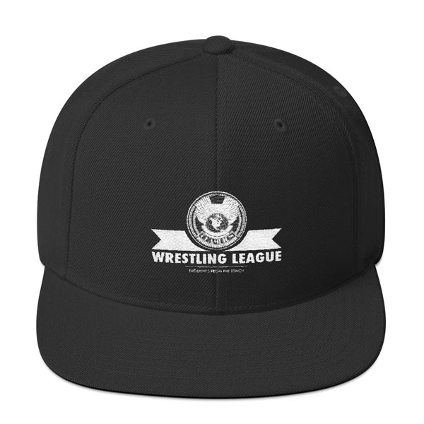 Wrestling League Snapback Hat