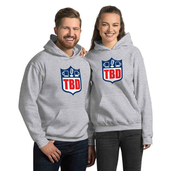 Two Beers Deep Football Hoodie