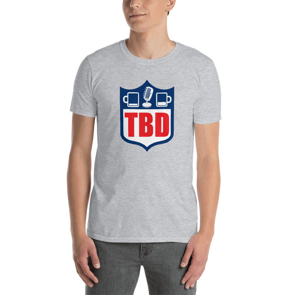 Two Beers Deep Football T-Shirt