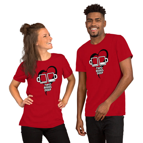 Two Beers Deep Valentine's T-Shirt